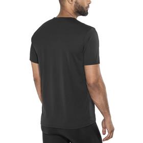 Odlo Cardada Kortærmet T-shirt Herrer sort